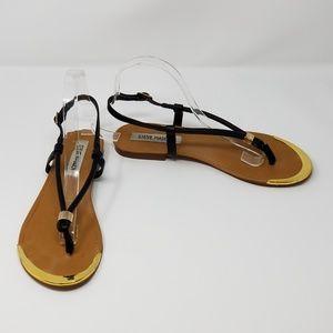 Steve Madden Rubbyy Slingback Flat Thong Sandals